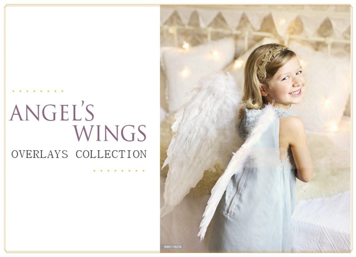 Набор оверлеев «Крылья ангела»