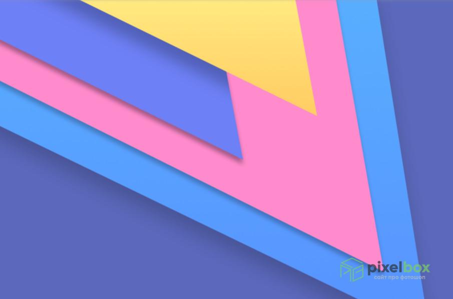 Изысканные и строгие фоны в стиле Material Design