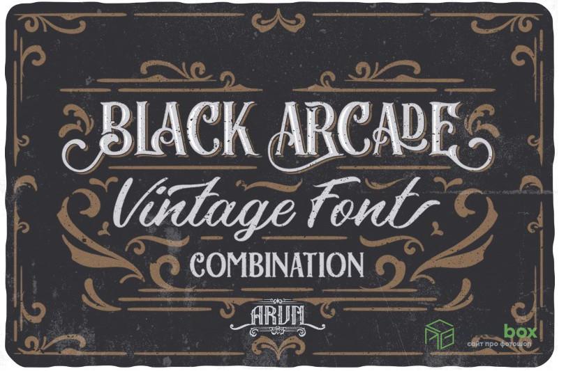 Яркие шрифты в стиле стимпанк с ретрофутуристическим оформлением
