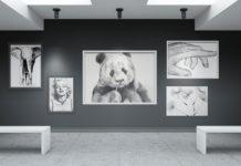 Psd-шаблоны фоторамок для создания арт-галереи