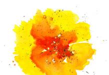 37 акварельных фонов и текстур для творчества