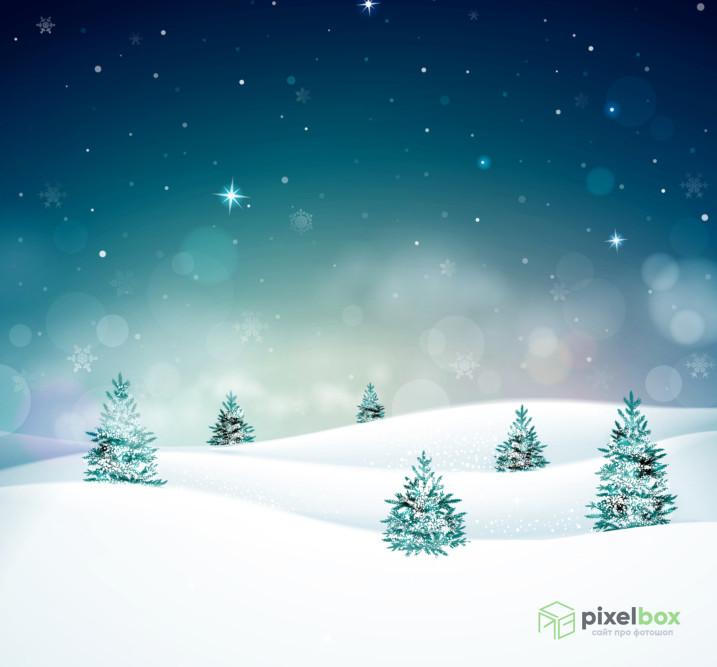 76 фонов и текстур с тематикой Нового года