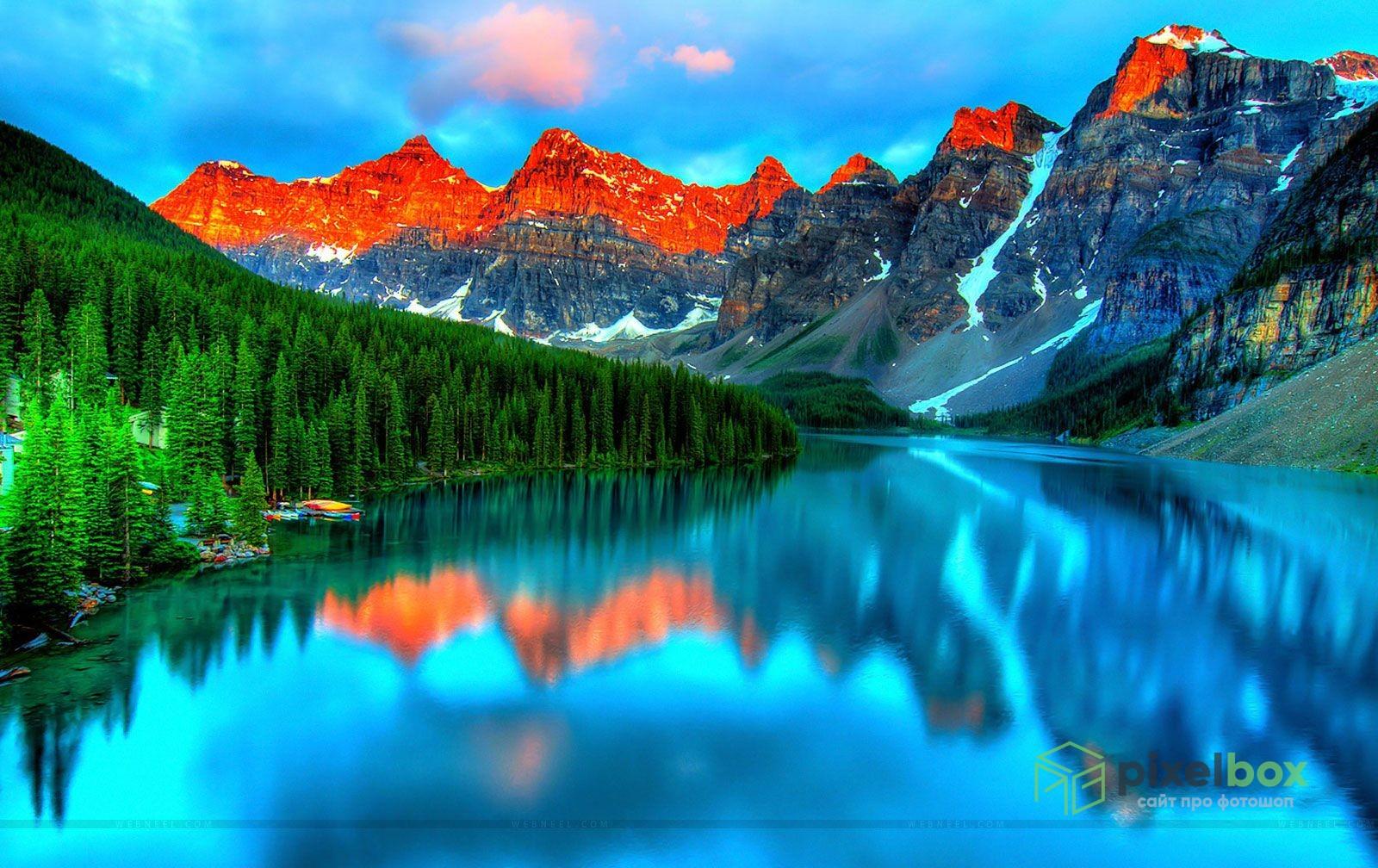 Коллекция фонов Природа для Photoshop и не только