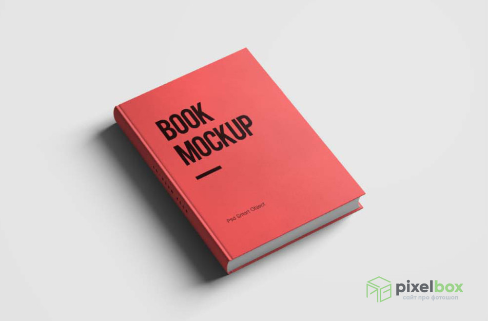 PSD-мокапы книг и книжных разворотов