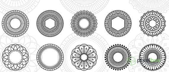 Геометрические фигуры (Shapes) для фотошопа