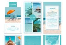 PSD-шаблоны для сторис Instagram