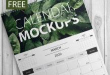 PSD-шаблоны и мокапы календарей