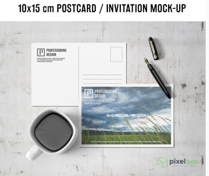 PSD-шаблоны открыток