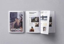 Коллекция PSD-шаблонов журналов