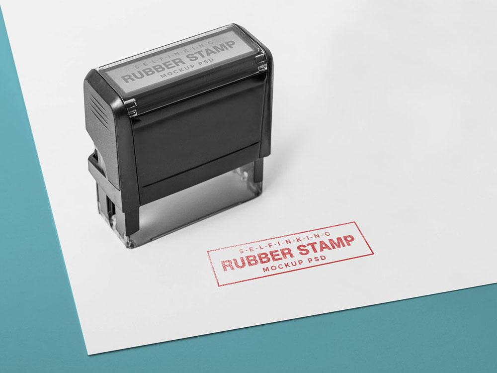 PSD-шаблоны (мокапы) печатей и оттисков