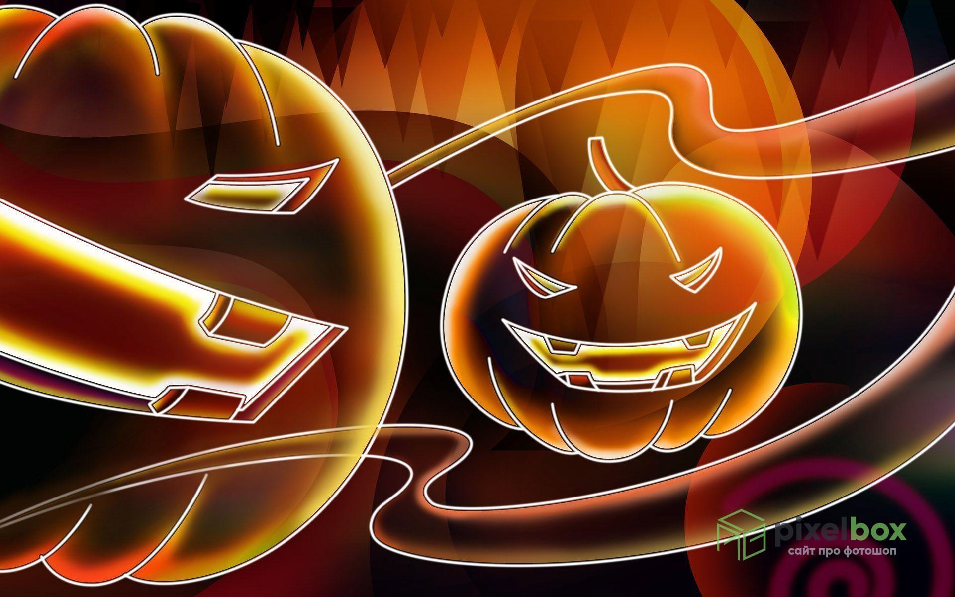 Коллекция фонов Photoshop в честь Хэллоуина