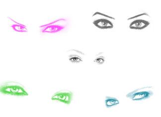 Полезные кисти глаз для Photoshop
