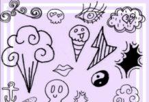 Коллекция кистей Photoshop для художников комиксов, скетчей, зарисовок