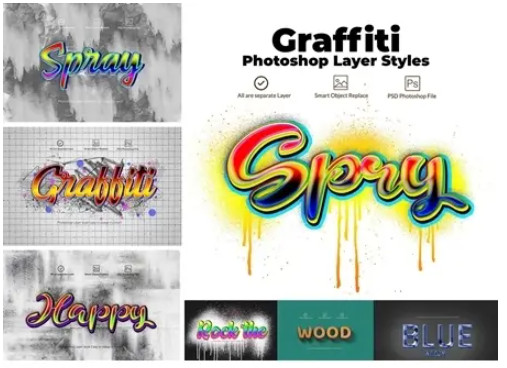 Граффити стили для Photoshop