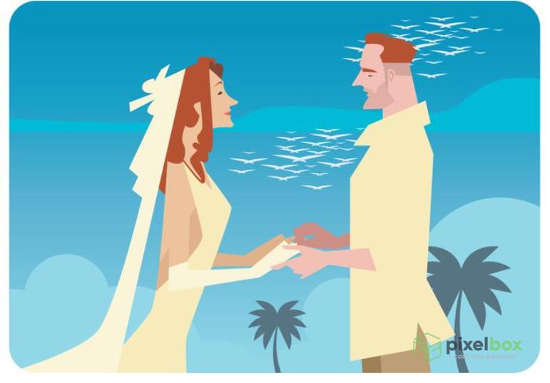 Свадебные фоны для торжественных и памятных проектов