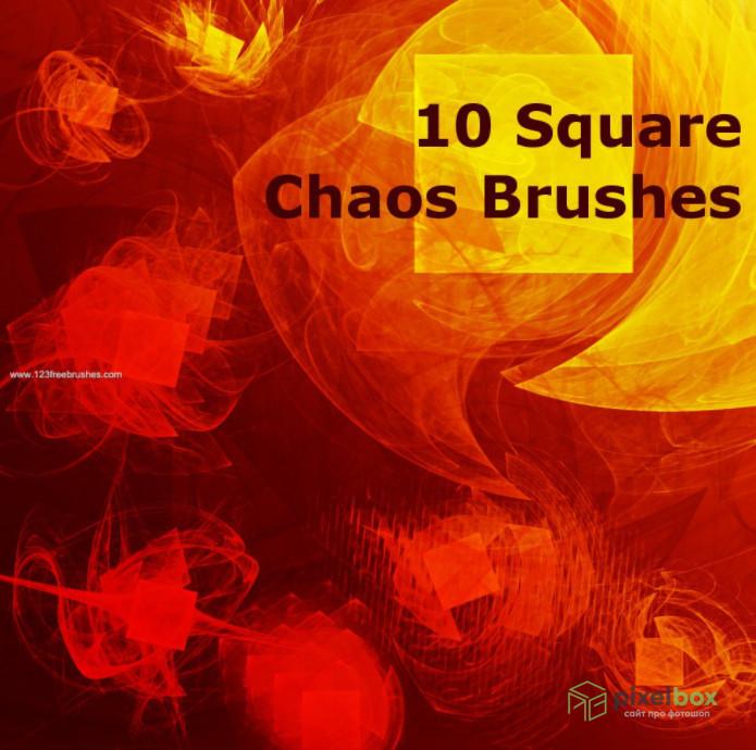 93 квадратные кисти для Photoshop