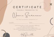 PSD-шаблоны сертификатов для Photoshop