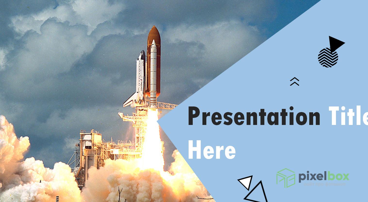 Коллекция шаблонов презентации Космос
