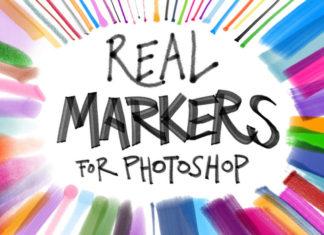 60+ кистей Маркера для Photoshop