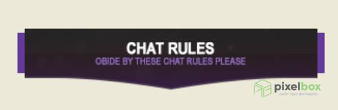 Набор шаблонов панелей для Twitch