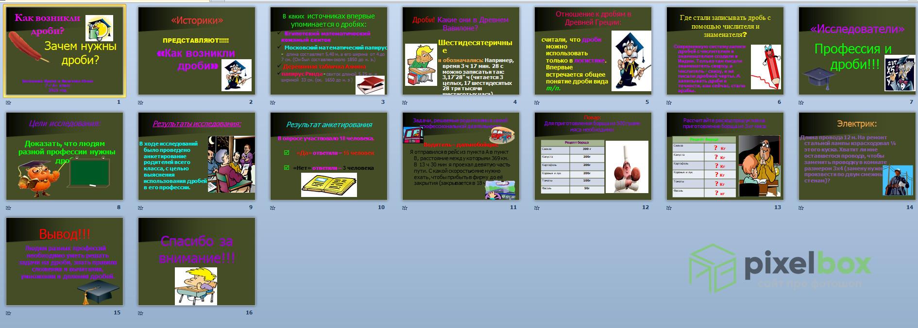 Презентации и шаблоны по Математике для PowerPoint