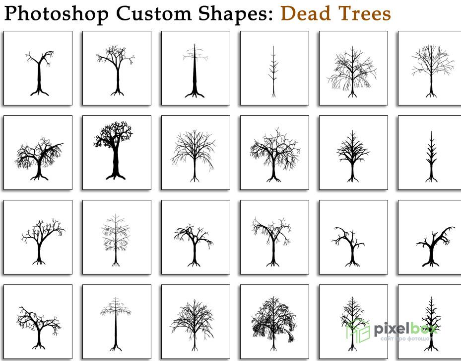 120 фигур (csh) для Photoshop и креативных проектов