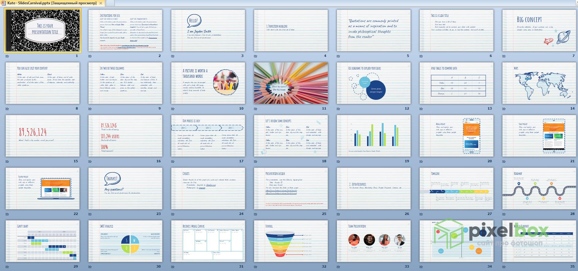 Стильные шаблоны презентаций Powerpoint в 2021 году