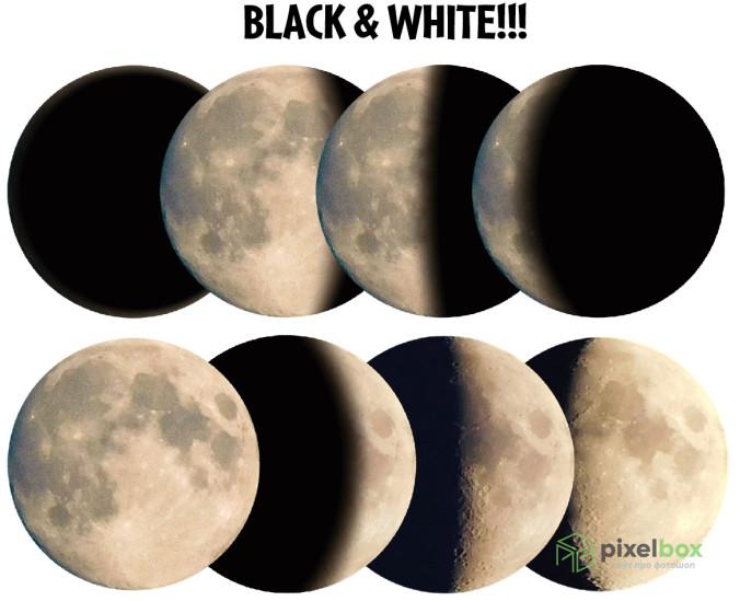 Коллекция 71 клипарта Планет, Солнца и Луны