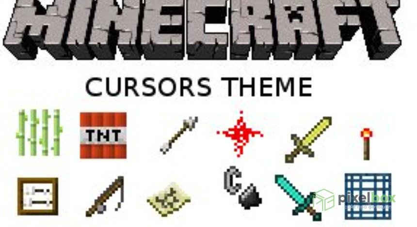 Коллекции курсоров Minecraft для Windows