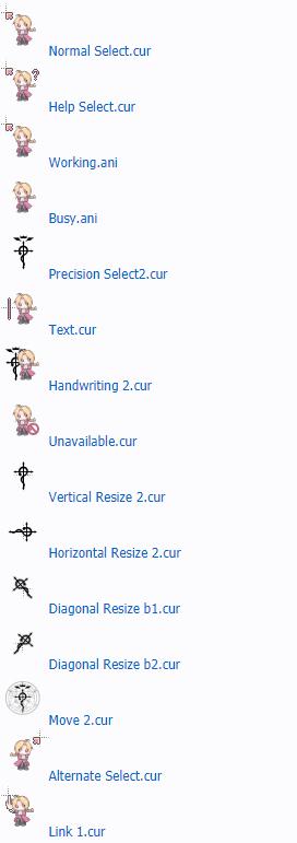 Лучшие курсоры аниме для Windows
