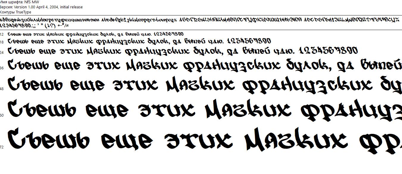 ТОП кириллических шрифтов для теггинга
