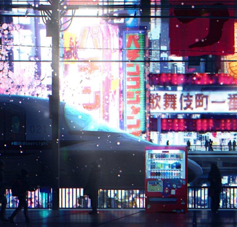 Красивые обои Wallpaper Engine Cyberpunk